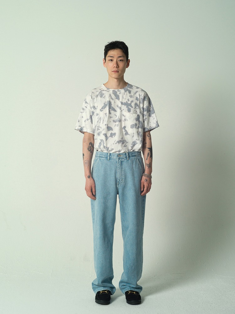 Wide Jeans Light Blue