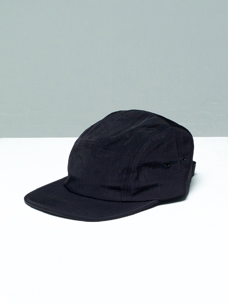 [-10%] Nylon Camp Cap Black