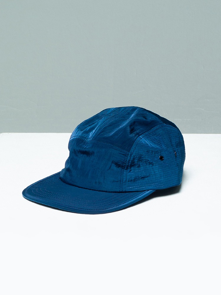 [-10%] Nylon Camp Cap Blue